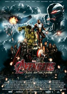Age of Ultron fan made poster