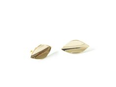 Mini blad konkav gull