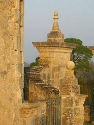 entrée d'un château à Fronsac