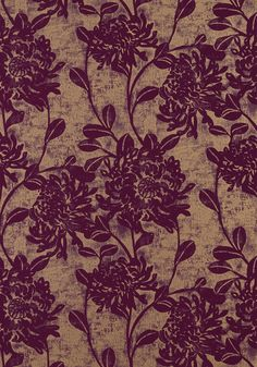 MUMS, Plum, T782, Collection Artisan from Thibaut