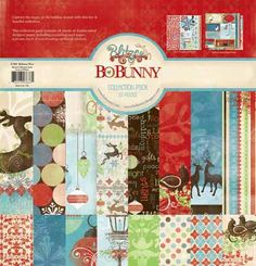 Bo Bunny Press - Blitzen Collection - Christmas - 12 x 12 Collection Pack at Scrapbook.com $18.99