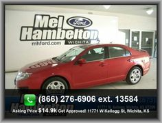 2010 Ford Fusion SE Sedan   Variable Intermittent Front Wipers, Rear Bench, Vehicle Emissions: Ulev Ii, Four-Wheel Independent Suspension, 4-Wheel Abs Brakes,