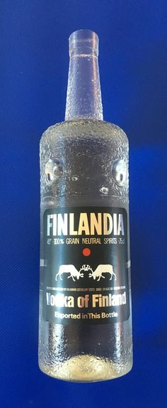 Tapio Wirkkala Finlandia vodka prototype bottle