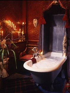 ooh we were talking about going to this place for a weekend or something// Ah, I like the look of this! The Witchery by the Castle, Edinburgh, Scotland