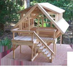 [ #Hammock #House #idea #Ideas #Pergola #Pergola diy #Pergola modern #Pergola screen #Pergola wall Tree House Designs, Tiny House Design, Cabin Design, Bamboo House, Pergola Plans, Diy Pergola, Pergola Ideas, A Frame House, Log Cabin Homes