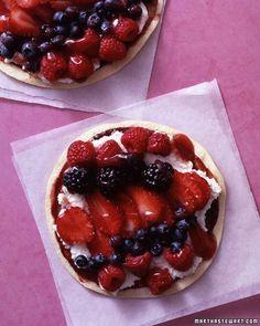 Berry ''Pizza'' Recipe