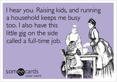 Liked this a while ago. Proud I was a working mom but just couldn't put my baby in daycare
