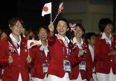 London 2012 Olympics Opening Ceremony Japan