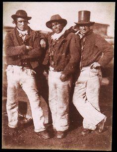 Fishermen Ashore - 1843-47  David Octavius Hill, Leith