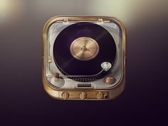 Dribbble - Iphone 5S Luxurious Music App by Jorge Porta