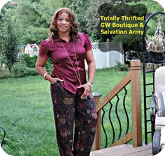 Are you a Thriftinista? #ootd #thrifted #goodwill #salvationarmyfamilystore