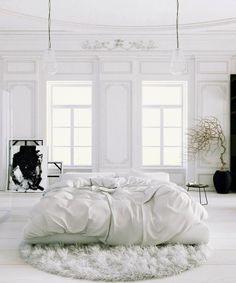 Pure+bedroom+design+-+minimalistic+and+Parisian+chic