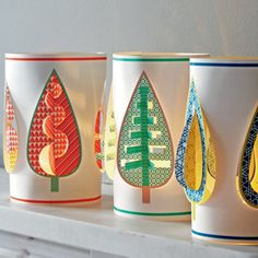 look at these paper lanterns!