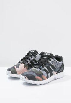 adidas Originals ZX FLUX - Sneakers laag - core black/ white - Zalando.nl
