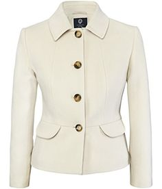 Buy Viyella Petite Cashmere-Blend Teddy Jacket, Blonde from our Women's Coats & Jackets range at John Lewis & Partners. Suits For Women, Jackets For Women, Clothes For Women, Casual Blazer Women, Stylish Jackets, Blazer Outfits, Blazers, Cashmere, Winter Fashion