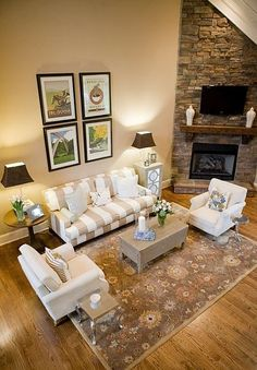 Living Room Furniture Arrangement Corner Fireplace Fireplace