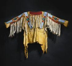 Crow Beaded Hide War Shirt | lot | Sotheby's