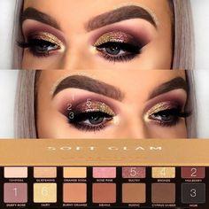 Aloof Cool Makeup Brushes Coole Make-up Pinsel Glam Makeup, Eyeshadow Makeup, Makeup Inspo, Makeup Inspiration, Makeup Brushes, Beauty Makeup, Makeup Ideas, Eyeshadows, Makeup Trends