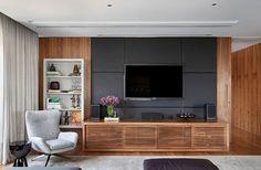 O home tourde hoje traz umadecoração contemporânea! Este duplex, do escritório A1 Arquitetura, em São Paulo,temcores claras e madeira no projeto. O pis