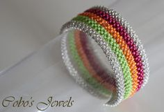 Cobo's Jewels: Colorful CRAW Bangles