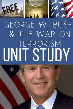 We are studying George W. Bush & The War on Terrorism with this Free Unit Study. I've found some notebooking pages, and compiled a list of great resources for the study. George W. Bush & The War on Terrorism This post contains affiliate links. Which means I may receive a commission if you click on […] American Presidents, Us Presidents, How To Start Homeschooling, Nature Study, Homeschool Curriculum, Work From Home Moms, Our Kids, Middle School, The Unit