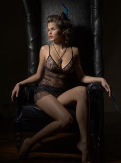 #lingerie #fishbelly #Modemagazine #black lace #slipdress fishbelly: Shooting Mode Magazine