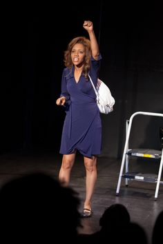 "From The Best of the Fest Benefit Performer: Chrystee Pharris in her solo show, ""In Search of O"""