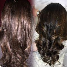 Before & after  Those caramel sunlights tho   #dirosa #goldwellus #color #instahair #hair #hairbrained #hairdressermagic #modernsalon #bangstyle btcpics #behindthechair #thecoloristmag #haircolor #iamlicensed #longisland #newyork #love #scissorsalute #angelofcolour #larisalovelook #iamgoldwell #bestoflongisland #dirosapro #hairinspo #industriebeauty #beautylaunchpad