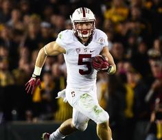 With their combination of agility, power, and talent, these preseason Heisman Trophy candidates should wow the crowds on campus this fall. College Football Players, Football Helmets, Muscle Fitness, Mens Fitness, Christian Mccaffrey, Heisman Trophy, Detailed Image, Fashion Gallery, Athlete