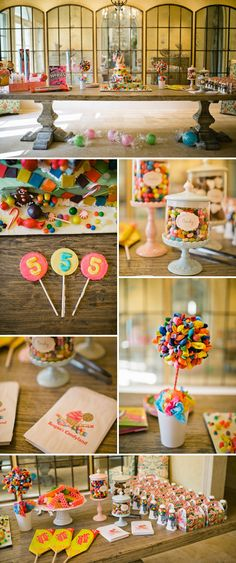 Candyland Themed Birthday Party