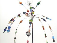 Carolina Creations | Garden Sparkler | Fine Art Contemporary Gift Gallery Yard Ornaments, Outdoor Stuff, Outdoor Decor, Outdoor Living, Fairy Wands, American Crafts, Garden Crafts, Sparklers, Public Art
