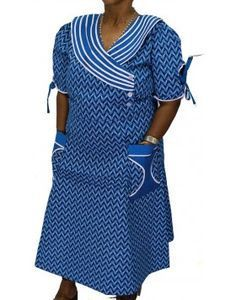 makoti shweshwe traditional dresses - style you 7 African Dresses For Women, African Attire, African Wear, African Fashion Dresses, African Women, African Outfits, African Clothes, Sotho Traditional Dresses, South African Traditional Dresses