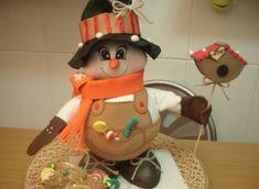 Мастер класс по созданию снеговика из фоамирана