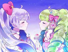 Colorful Art, Kawaii, Cute Art, Art, Anime, Anime Characters, Anime Drawings, Cartoon Art, Magical Girl