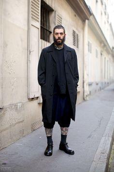 Street style: black layering