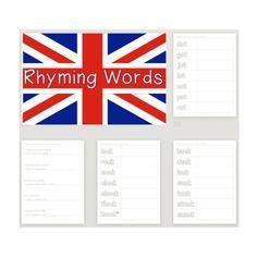 Screen Shot at Rhyming Words, Screen Shot, Teacher Resources, English, English Language