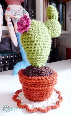 Cactus Amigurumi con patrón gratis