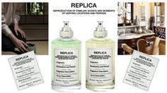 Le nuove fragranze TEA ESCAPE e AT THE BARBER'S Collezione REPLICA di MAISON MARTIN MARGIELA