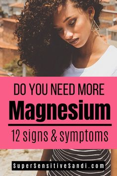 12 Signs & Symptoms of Magnesium Deficiency – magnesium deficiency sympto. Magnesium Sources, Magnesium Foods, Types Of Magnesium, Magnesium Benefits, Magnesium Supplements, Magnesium Sulfate, Magnesium Oil, Magnesium And Migraines, Magnesium For Anxiety