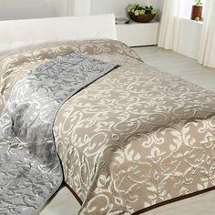 Bettüberwurf / Couchüberwurf / Tagesdecke Conti in 2 Farben 140 x 210cm in Sofa- & Sesselüberwürfe | eBay