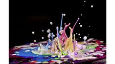 Paint Dancing To Music