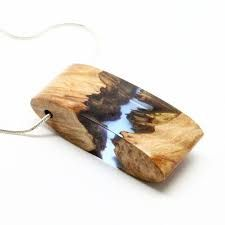 Image result for resin wood pendant