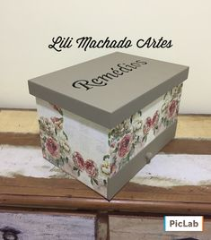 Decoupage Vintage, Ideas Para, Tapas, Diy And Crafts, Decorative Boxes, Shabby Chic, Scrap, Crafty, Home Decor
