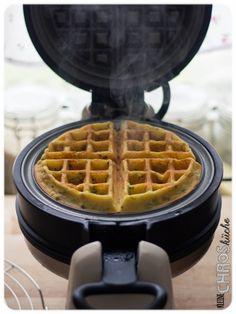 Kartoffelwaffeln Crepes, Pancakes, Waffle Iron, Scones, Vegan, Cooking Recipes, Kitchen Appliances, Food, Babys