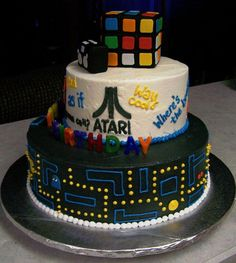 Eighties cake! I WANT THAT!!! Can we say Birthday cake!?!?!?