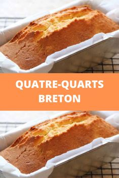 Quatre-Quarts Breton – Page 2 French Cooking Recipes, Baking Recipes For Kids, Cooking Recipes For Dinner, Gourmet Desserts, Gourmet Recipes, Sweet Recipes, Dessert Recipes, Vegan Art, Sushi Recipes