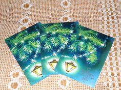 Happy New Year 3 Double Postcards.Unused от VintageUSSRshop