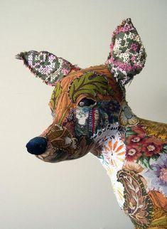 Лоскутные животные Бриони Дженингс (Bryony Jennings) - Я М   http://secondstreet.ru/blog/pechvork/tekstilnye-chuchela-bryony-jennings-diy.html