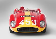Rare four-cylinder '57 Ferrari Testa Rossa expected to top $4 million at auction