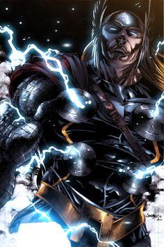 -Thor by Jimbo Salgado &Bryan Arfel Magnaye-  NEVER.  MESS.  WITH THIS MAN.  EVER.